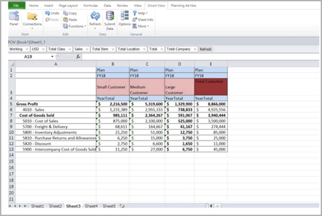 Microsoft Office Integration with Smart View