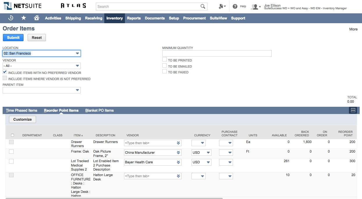 inventory management systems software netsuite