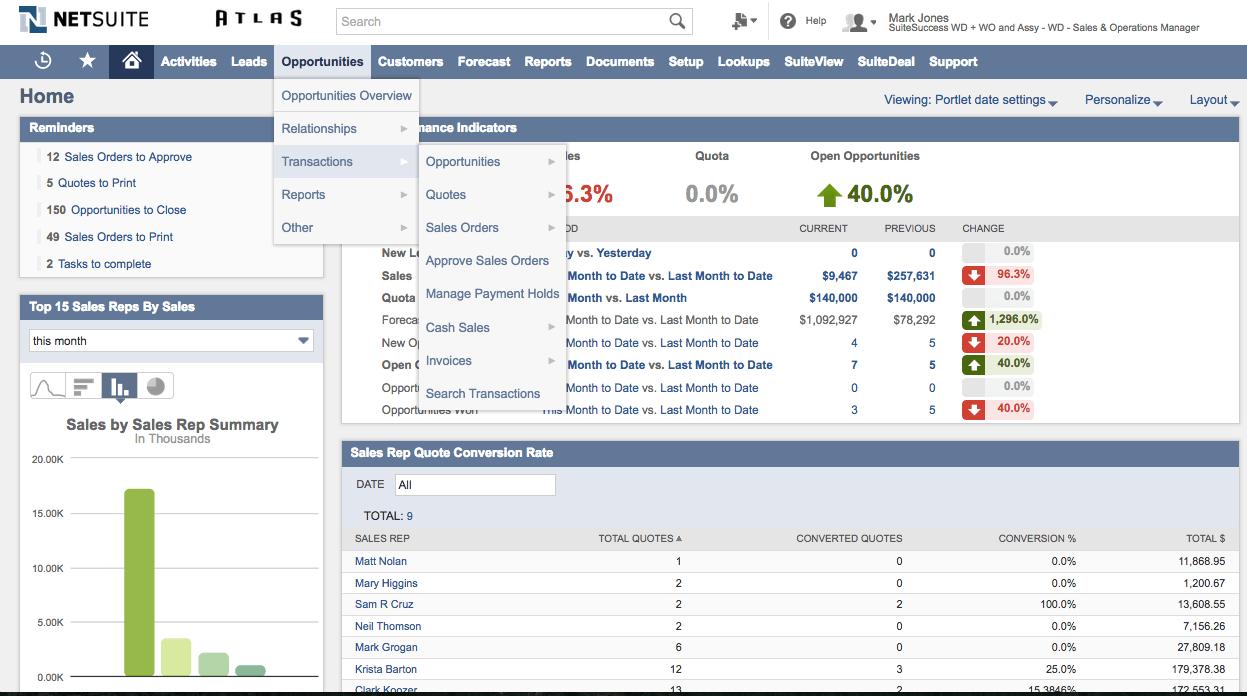 Sales Order Processing & Management Software | NetSuite