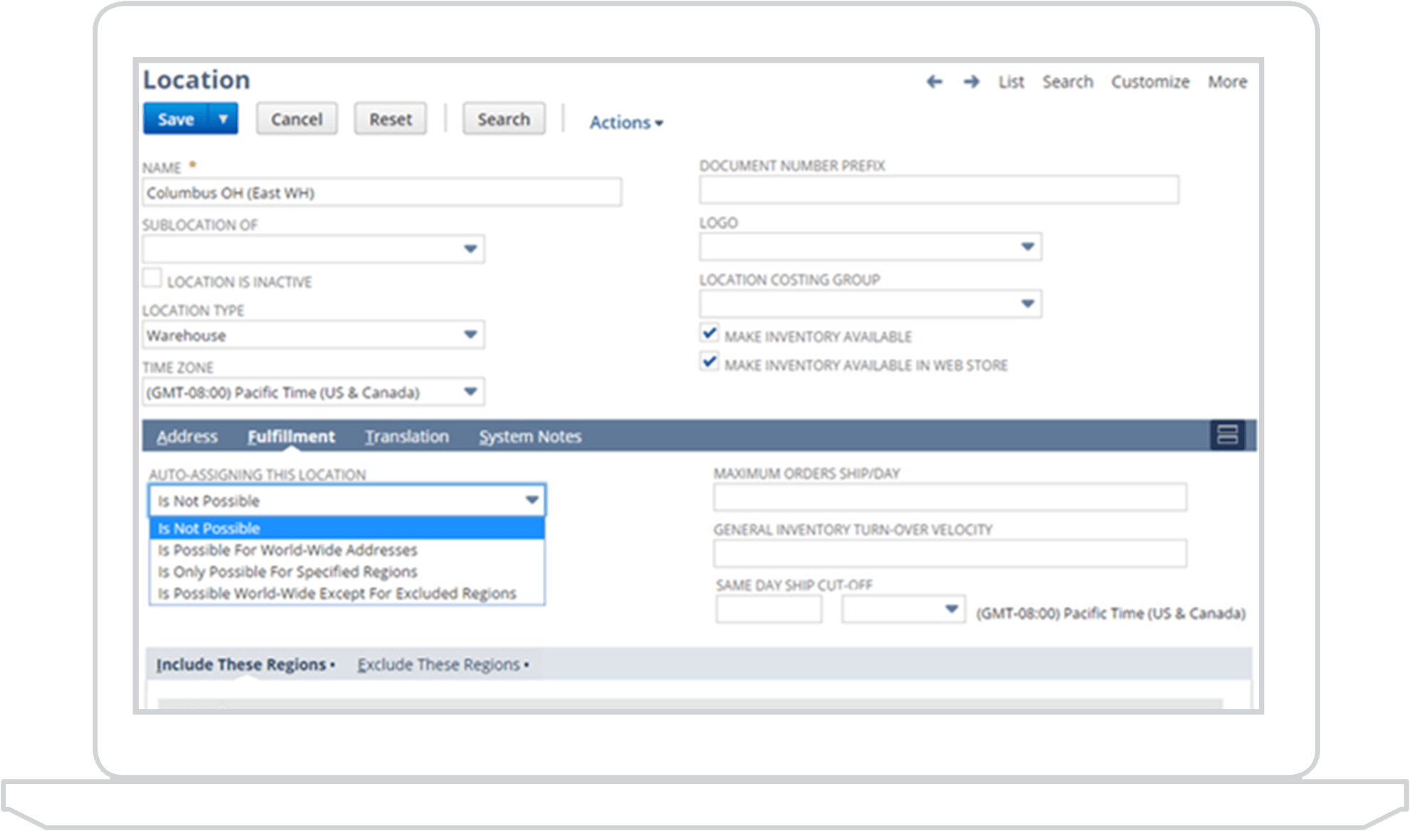 Order management fulfillment software netsuite for Netsuite document management