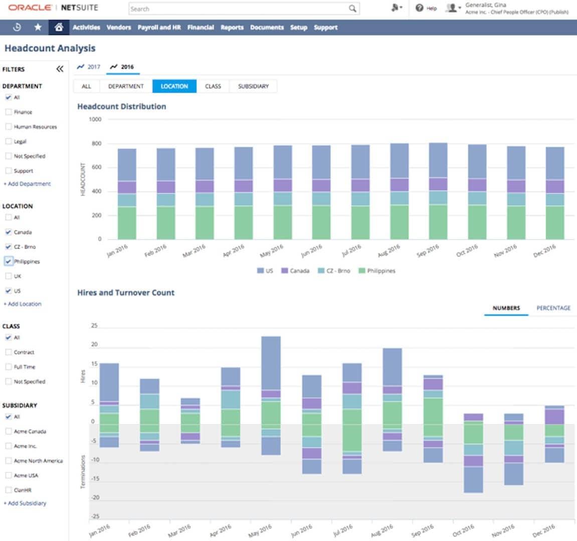 HCM Software - SuitePeople | NetSuite