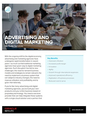 Advertising and Digital Marketing