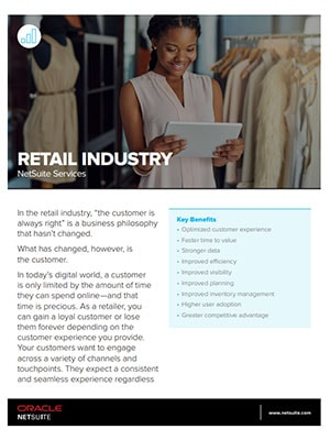 NetSuite Services: Retail