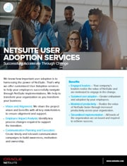Data sheet: NetSuite Pathway to Change