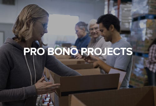 Pro Bono Projects