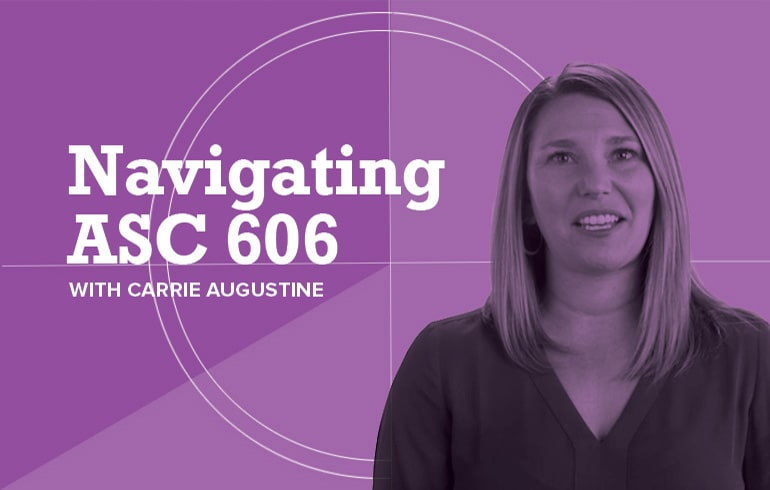 Navigating ASC 606 Standards